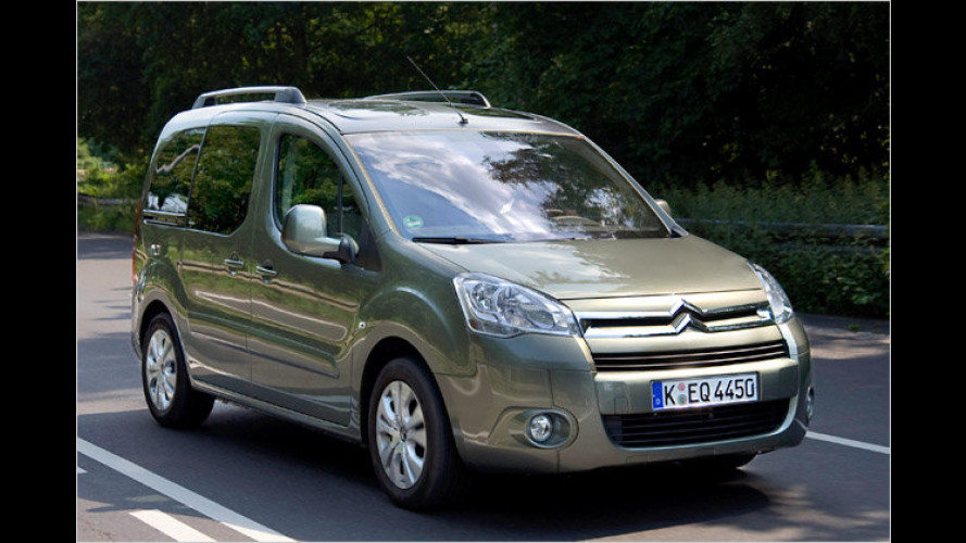 Citroën Berlingo als Sondermodell Silver Selection (2010)