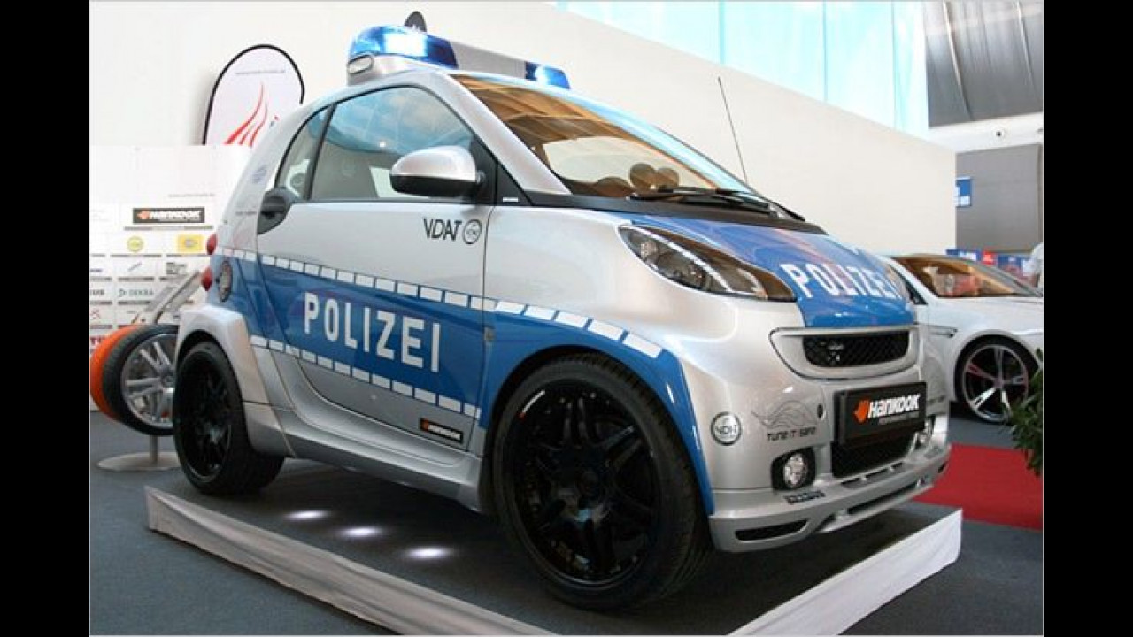 Kleiner Stadt-Jäger: Der Verband Deutscher Automobiltuner (VDAT) stellt im Rahmen seiner Kampagne ,Tune It! Safe!