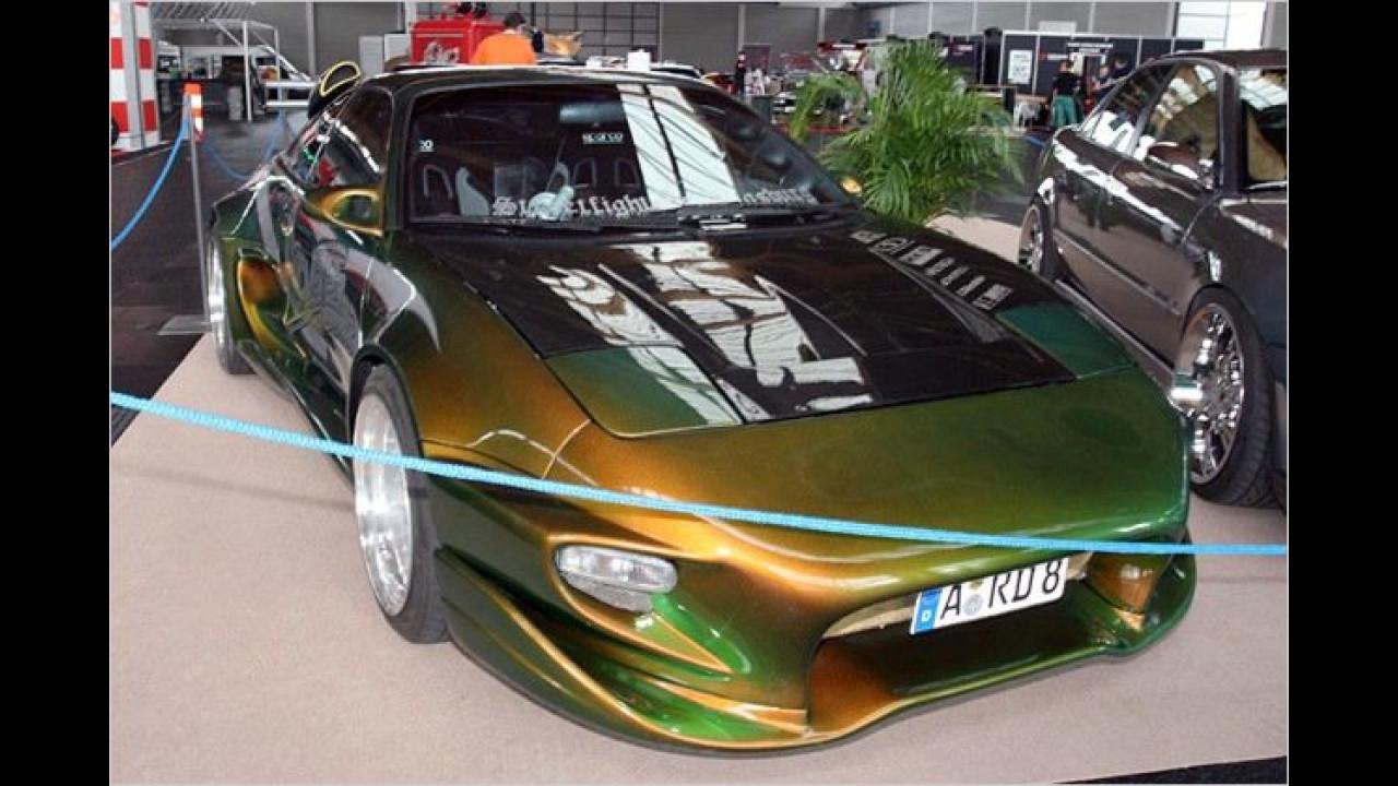 Erkennen Sie, was dieses Auto in seinem ersten Leben für ein Modell war?