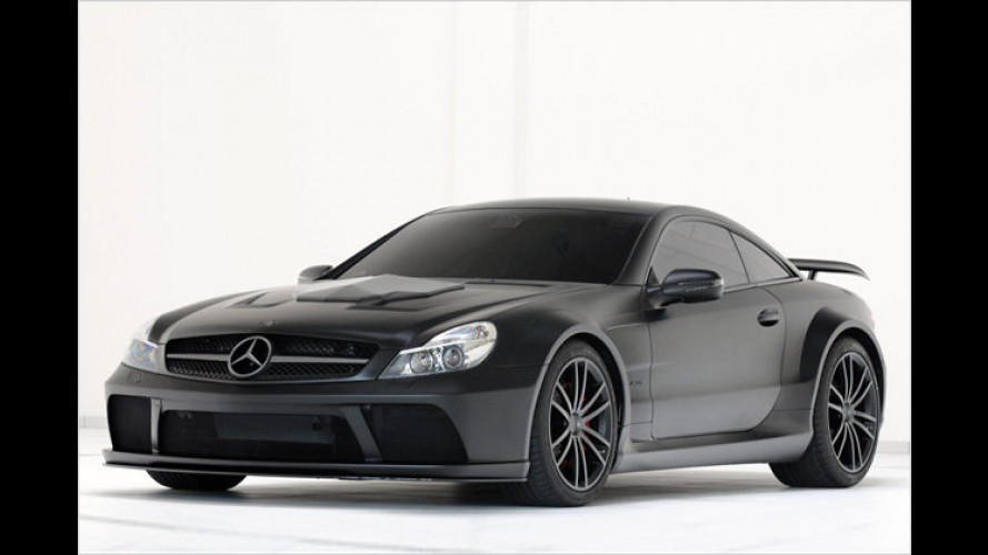 PS-Gigant: 800 Pferdestärken im Mercedes SL