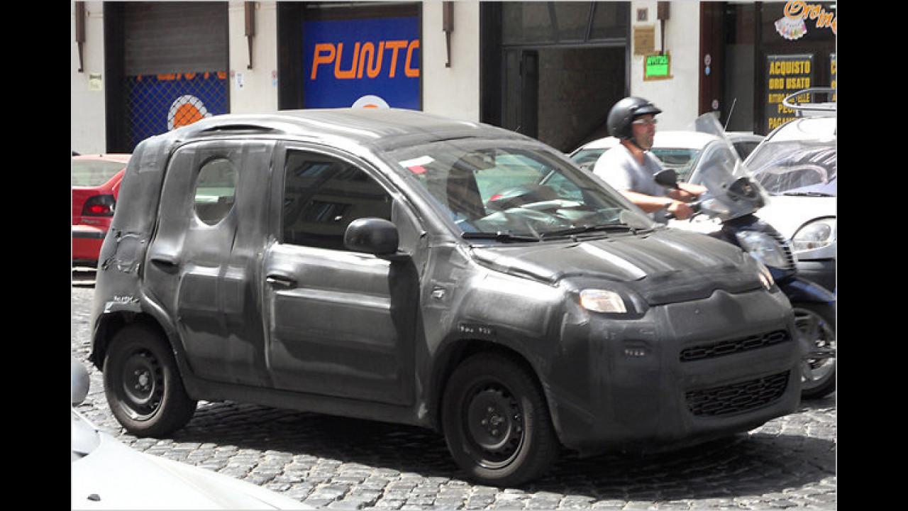 Erwischt: Fiat Panda