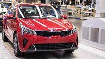 Начало производства обновленного Kia Rio в России