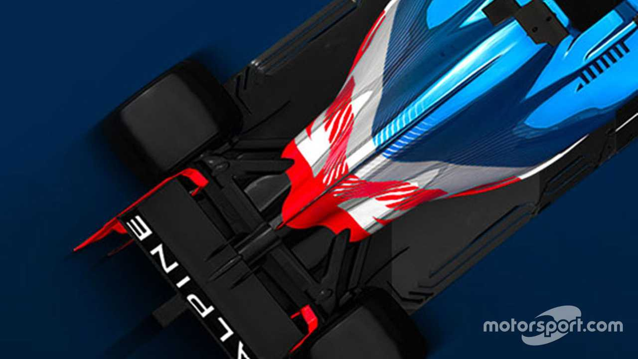 Alpine Formula 1 announcement