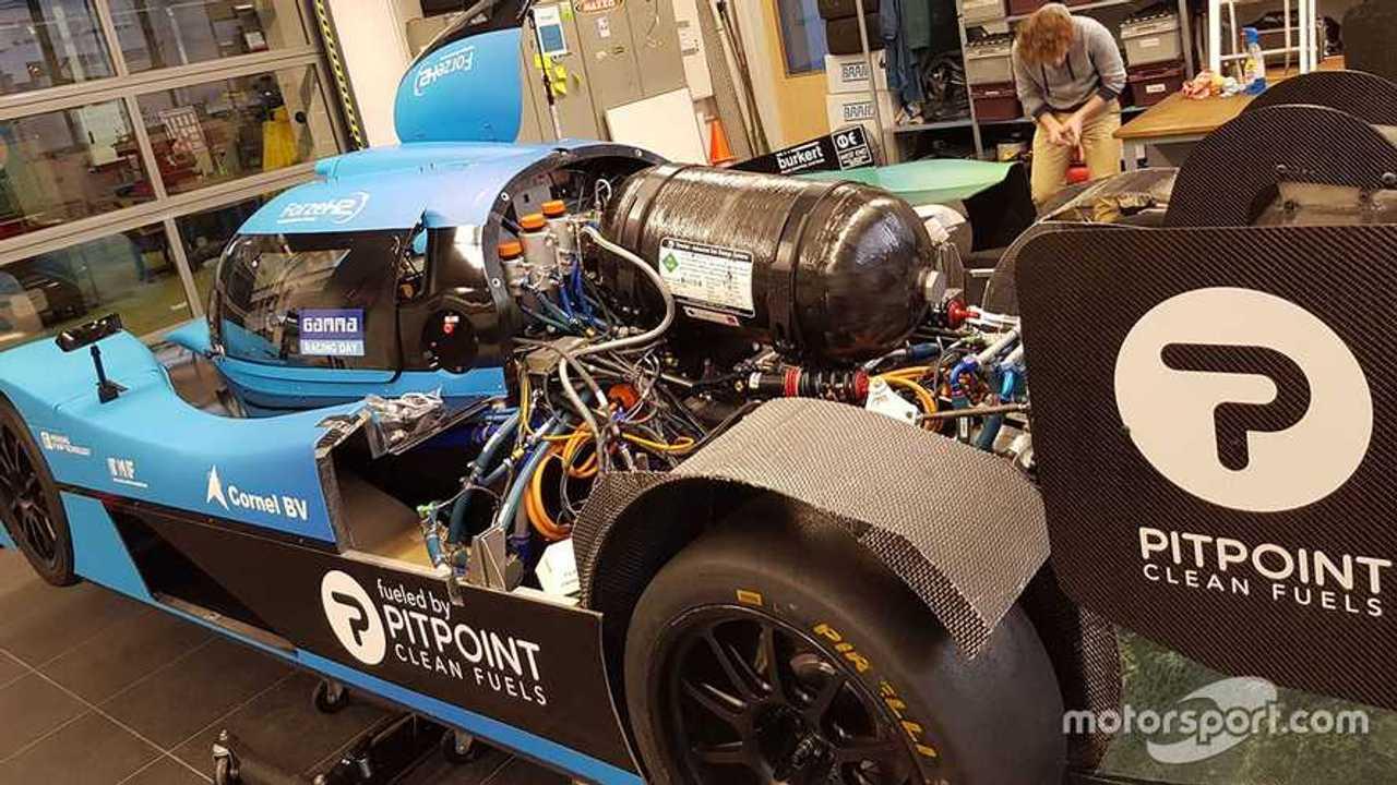 Forze VII hydrogen prototype 2017