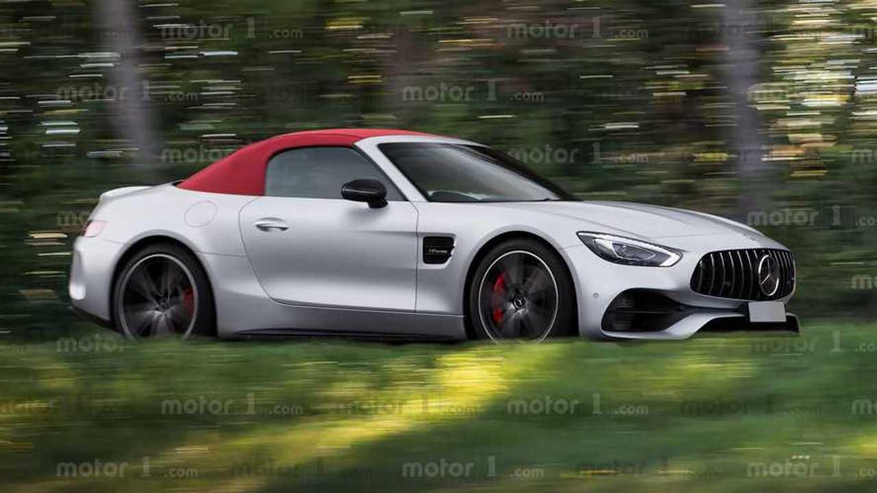 Mercedes-AMG SL Rendering