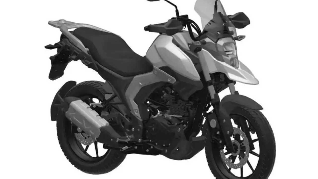 Could This Be The Suzuki V-Strom 160?