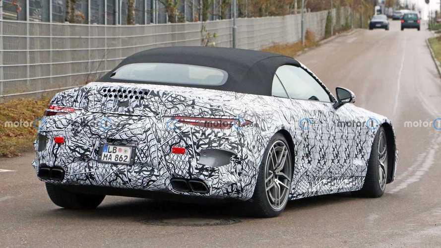 La Mercedes-AMG SL se découvre peu à peu