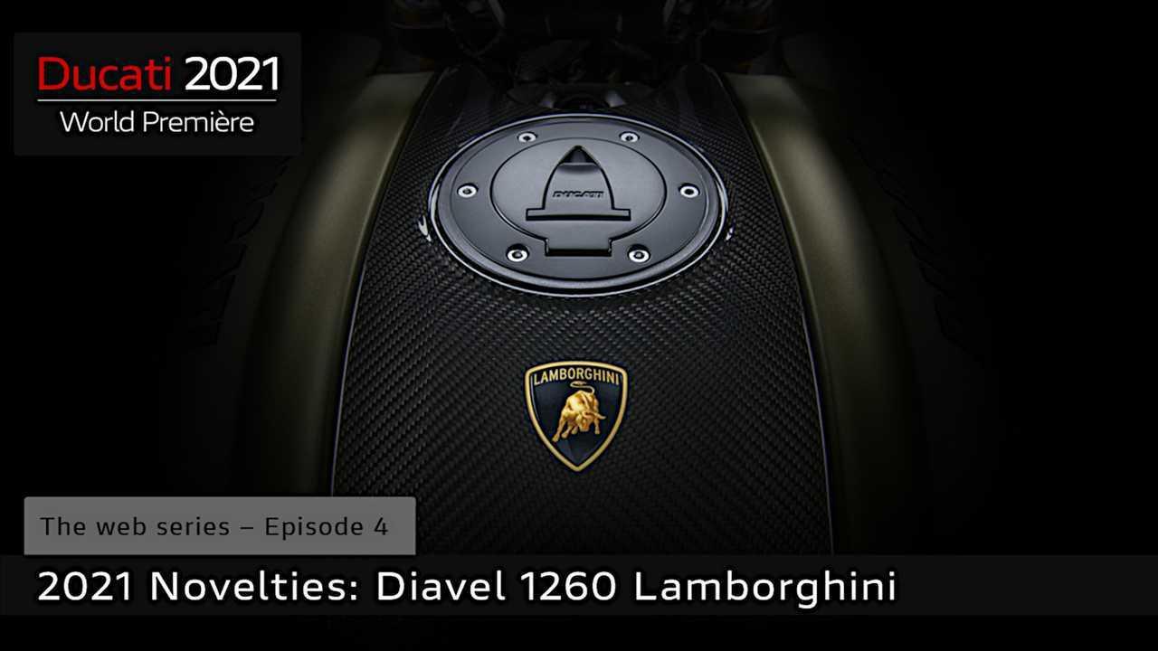 Ducati Diavel 1260 Lamborghini Teaser