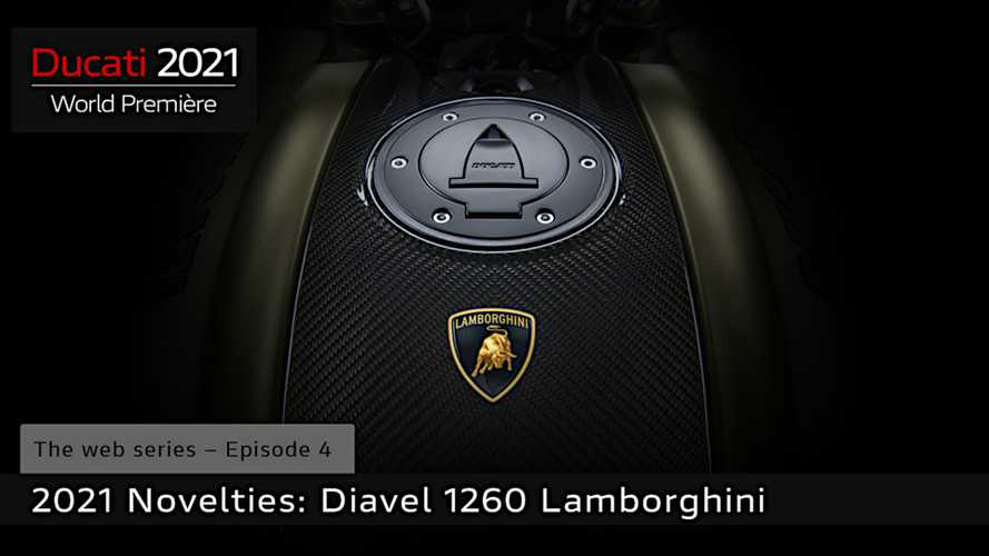 Ducati Will Premiere Diavel 1260 Lamborghini On November 25