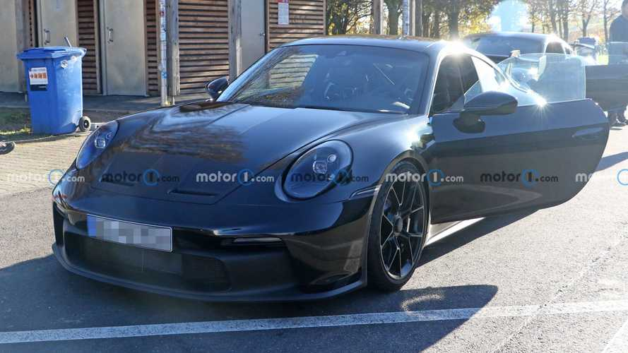 Porsche 911 GT3 New Spy Shots
