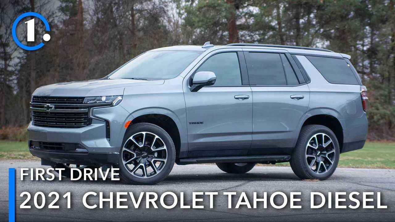 2021 Chevrolet Tahoe Diesel