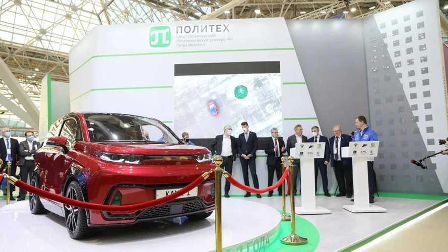 Электромобиль «Кама-1» сделали в Белоруссии