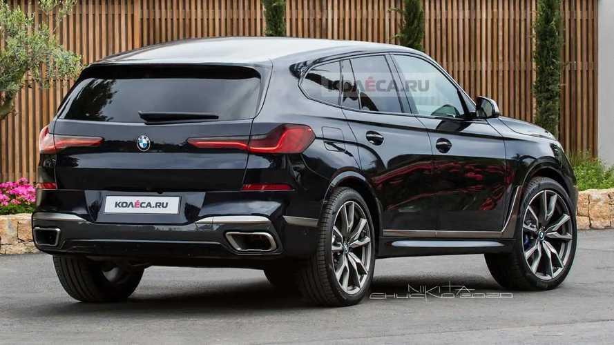BMW X8 2022 - Projeções