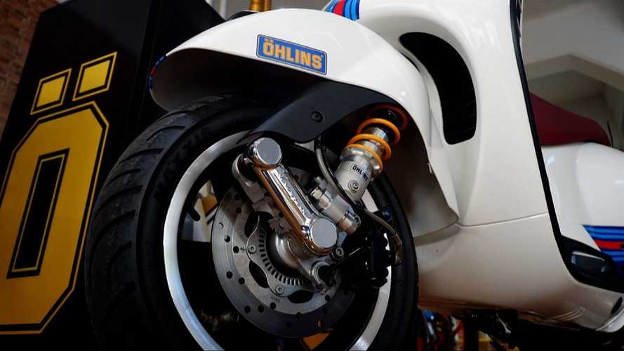 Öhlins Releases Suspension Upgrades For Vespa GTS 300 In Asia