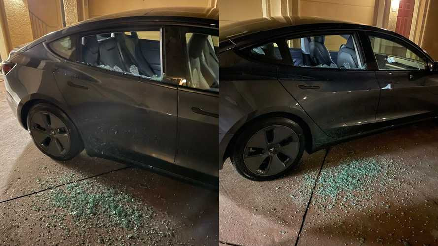 Tesla's Spontaneous Glass-Shattering Issues Strikes Again, Now A Brand New 2021 Model 3
