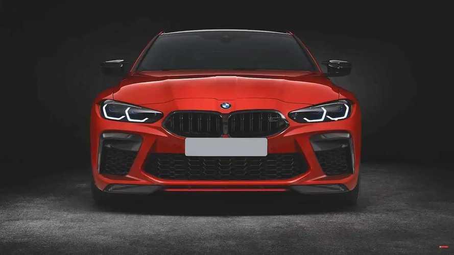 Normál méretű hűtőráccsal is remekül mutat at új BMW M4