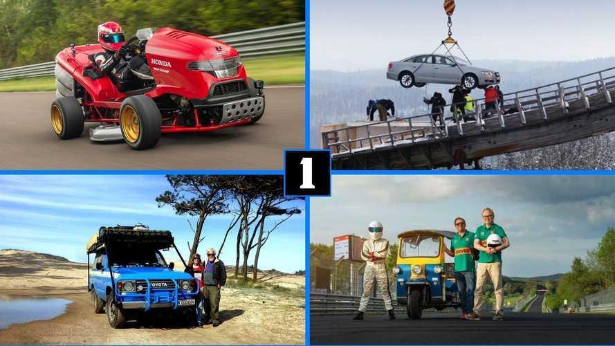 Unglaubliche Auto-Rekorde: Schneller, höher, weiter