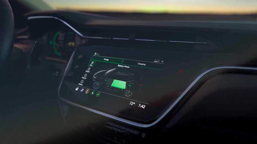 Chevrolet показала салон нового электрического кроссовера