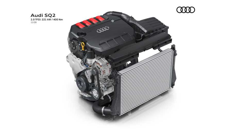 Makyajlı 2021 Audi SQ2