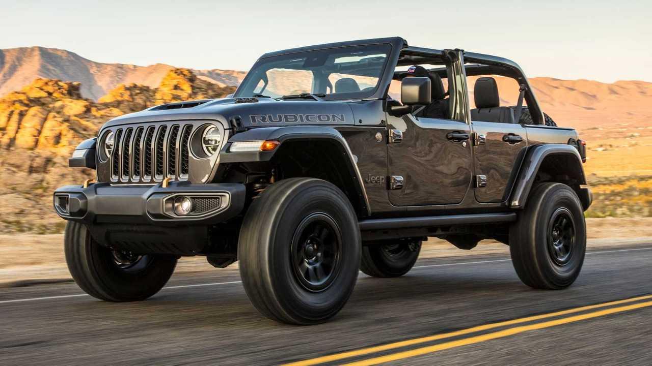 2021 Jeep Wrangler Rubicon 392 Vorderansicht