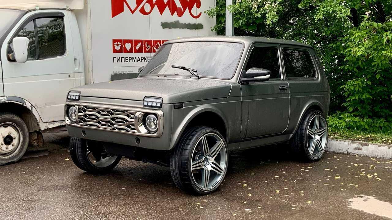 Lada 4x4 на «изоленте»