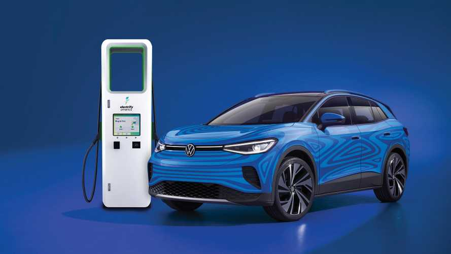 VW ID.4 Comes With 3 Years Of Unlimited Charging At Electrify America