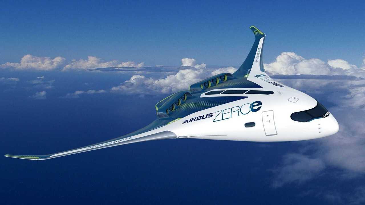 Airbus ZEROe:D er Nurflügler mit Strahlantrieb