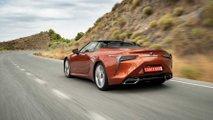 Lexus LC 500 Cabrio 2021, prueba