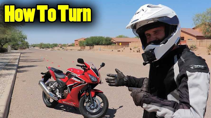 How To Do Tight Turns On Your Motorcycle