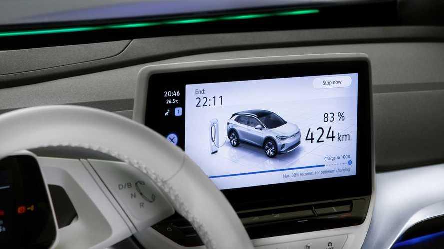 Tutte le elettriche Volkswagen si aggiornano over the air
