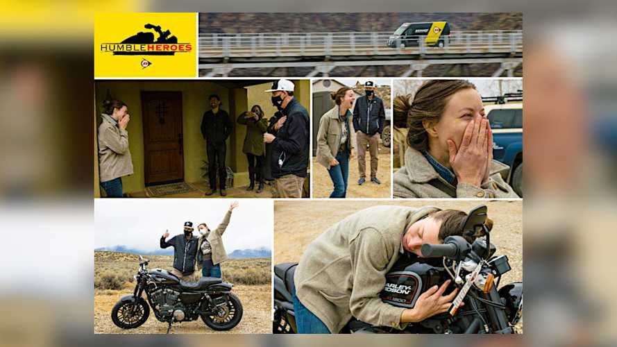 Dunlop Announces Humble Heroes First Responder Motorcycle Winner