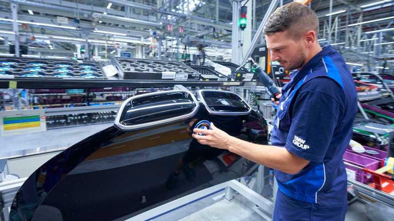 BMW i3 production in Leipzig
