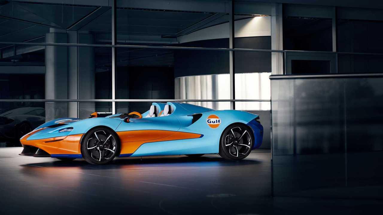 McLaren Elva Gulf téma MSO