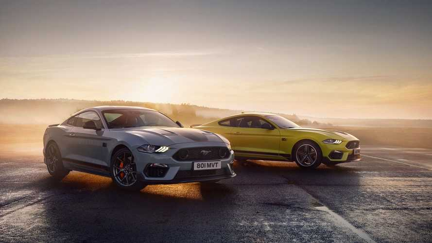 2021 Ford Mustang Mach 1 (European specification)