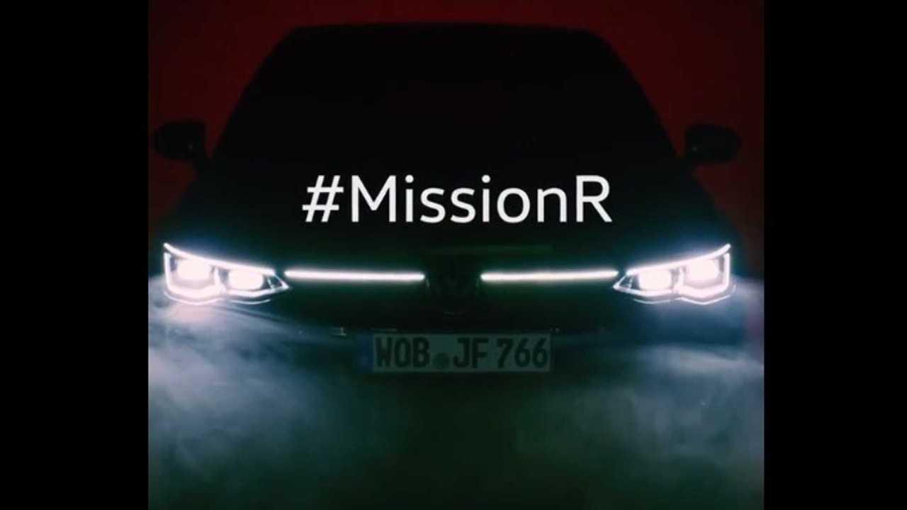 2021 VW Golf R teaser