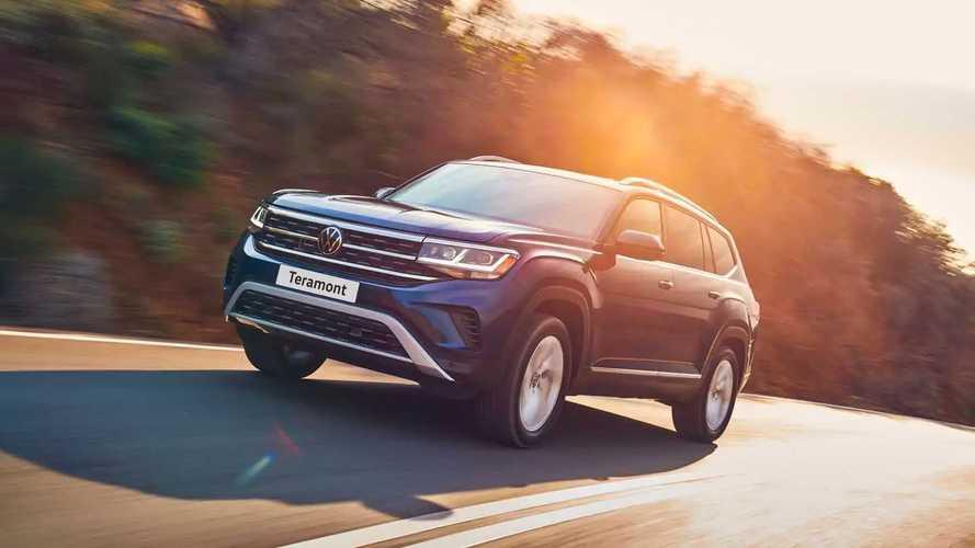 Обновленный Volkswagen Teramont все же добрался до России