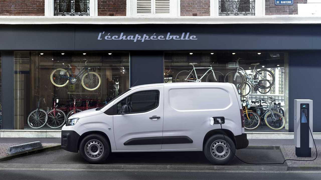 Citroën ë-Berlingo Van, vista laterale