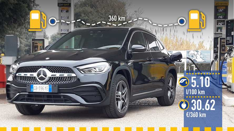 Mercedes-Benz GLA EQ Power, le test de consommation réelle