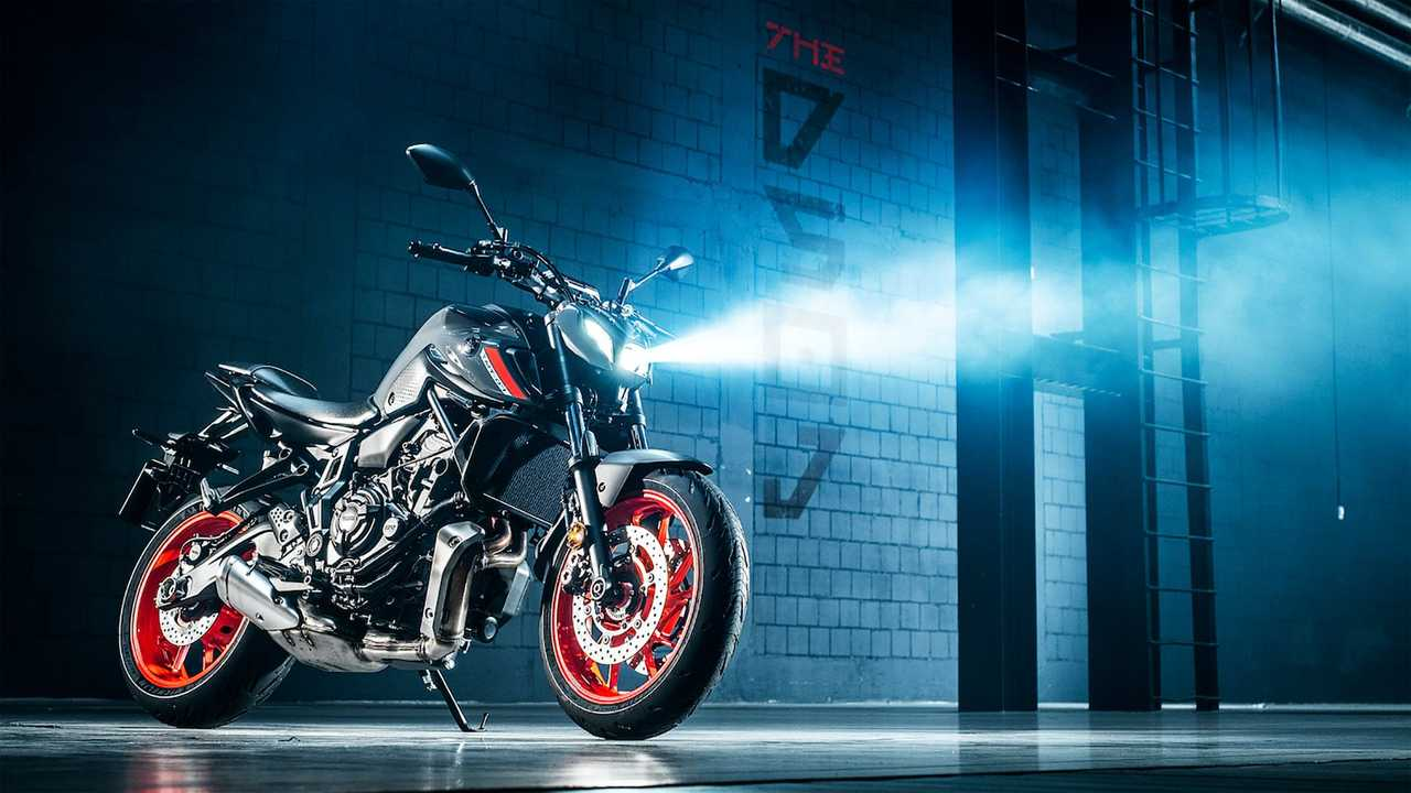 2021 Yamaha MT-07, Beauty Dark Side Of Japan