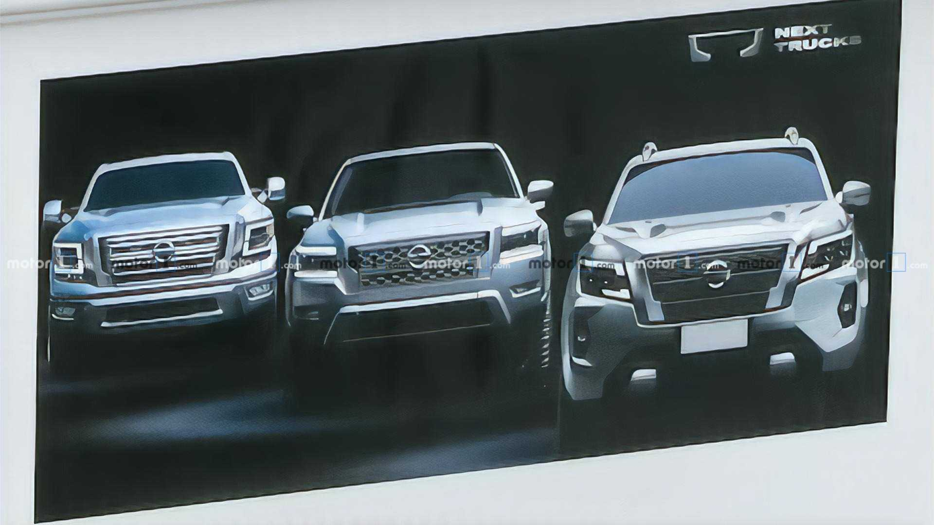 2021 Nissan Frontier For Us Makes Sneak Appearance In 2021 Navara Video
