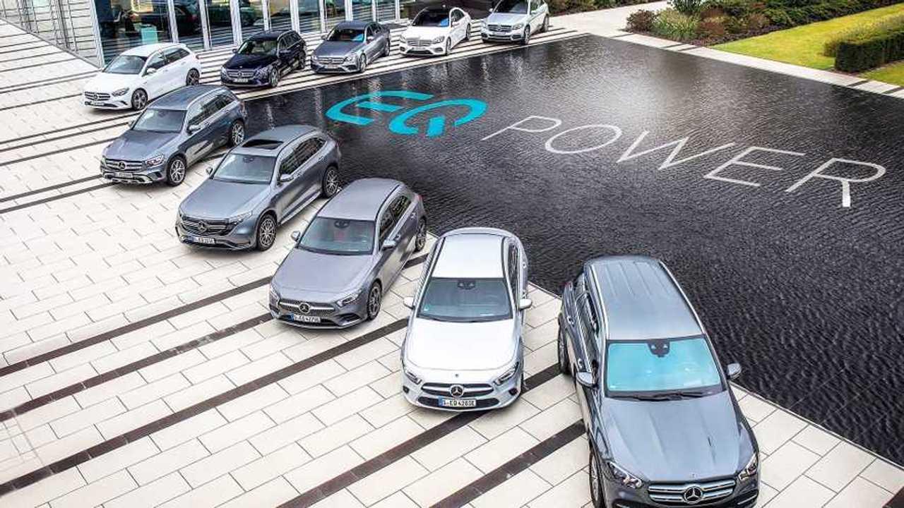 Mercedes EQ Power, le ibride plug-in della Stella