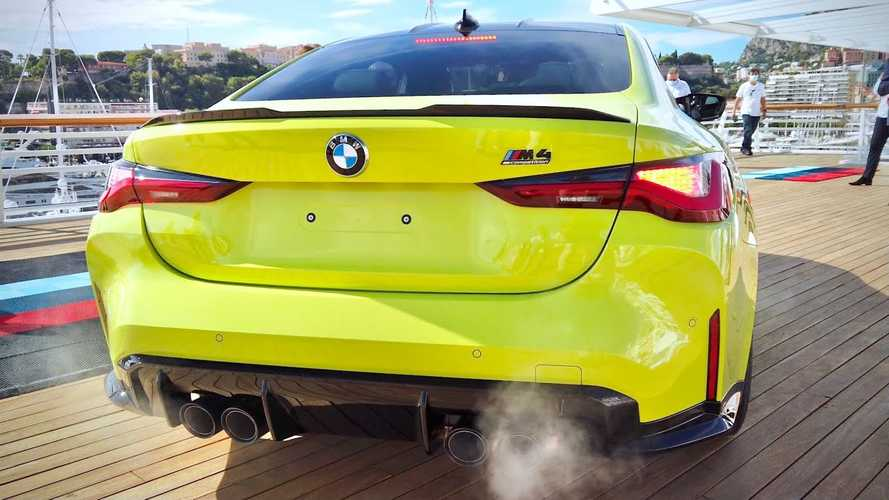 Listen to the 2021 BMW M4 Competition play its inline-six tune