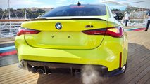 2021 bmw m4 competition exhaust sound