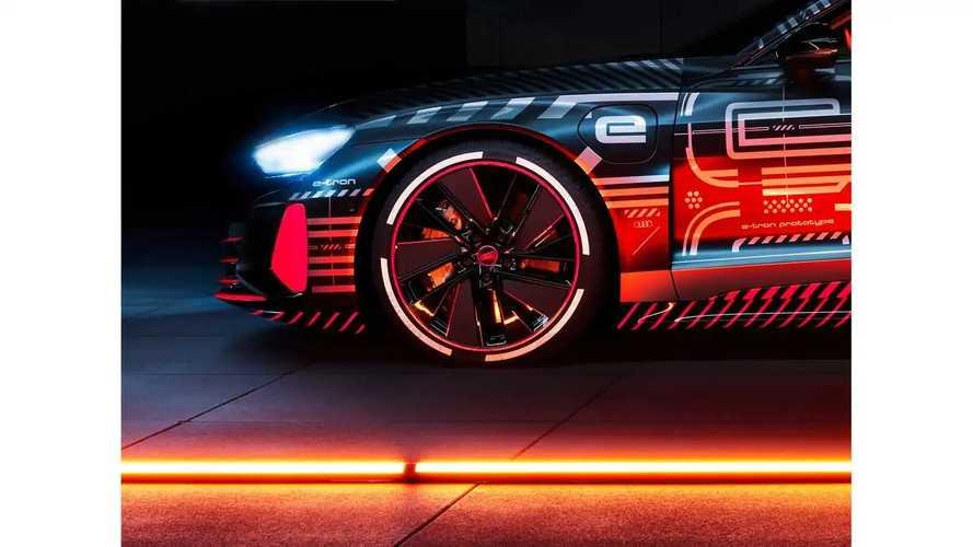 Audi e-tron GT (2021) Teaserbilder