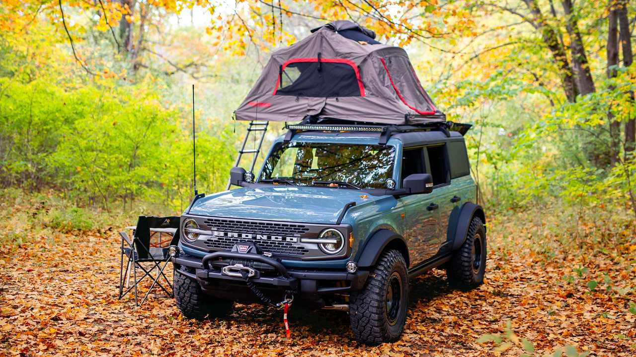 Ford Bronco Overland Concept Front