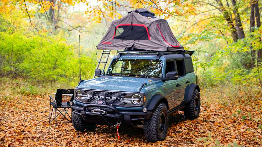 Ford Bronco Overland Concept Seeks Off-Grid Camping Adventures