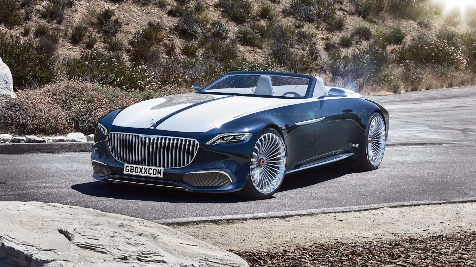 mercedes-maybach 6 cabriolet looks stunning with production cues