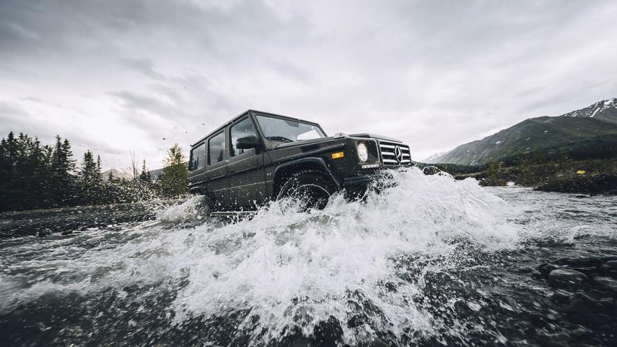 Mercedes, Yeni G-Serisi'nin çamurdaki performansını sergiliyor