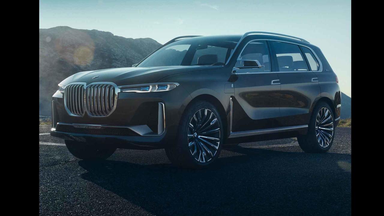 BMW X7 konsepti sızdırılan fotoğraflar