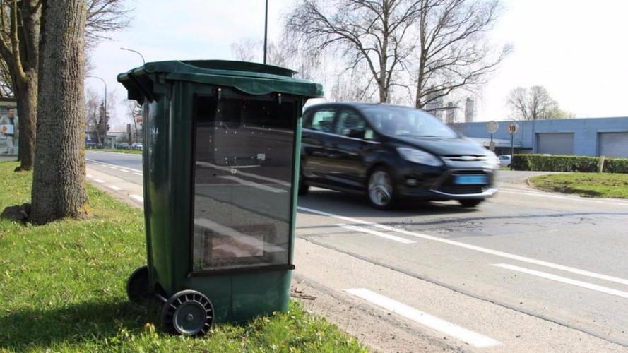 Le radar caché dans une poubelle arrivera-t-il en France ?